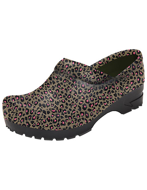 Anywear Women's Closed Back Plastic Clog Shoes