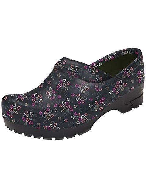 Anywear Women's Closed Back Plastic Clog Shoes
