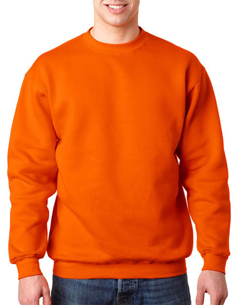 1102 Bayside Adult Blended Crew Neck Fleece Style