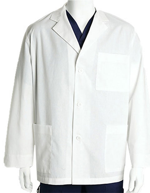 Barco Prima Unisex Three Pocket 31 inch Short Medical Lab Coat