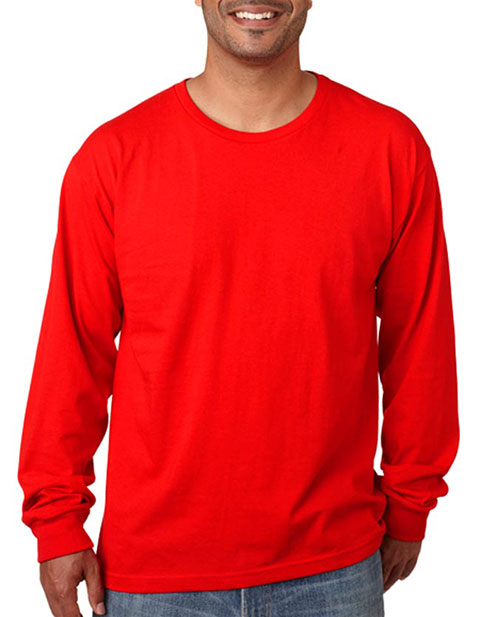 5060 Bayside Adult Long-Sleeve Cotton Tee