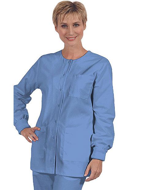 Office 365 Cherokee >> Buy Clearance Sale! Three Pocket Medical Scrub Jacket by ...