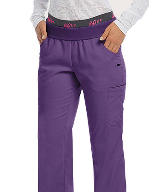 Barco KD110 Women's Flip Logo Waistband Tall Pant
