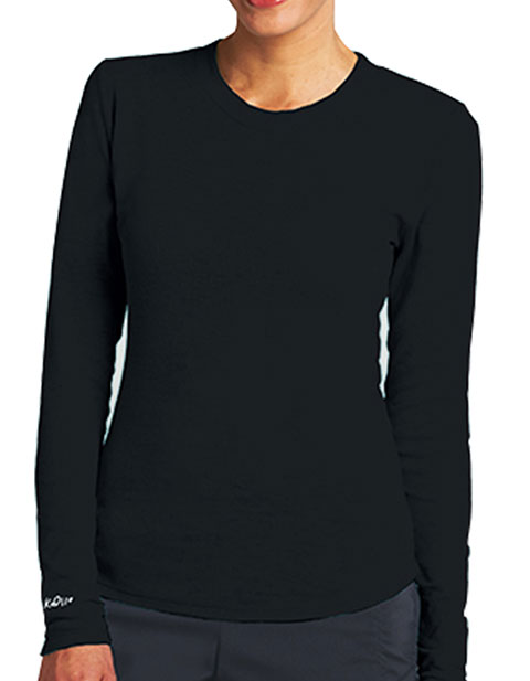 Barco KD110 Women's Long Sleeves Pieced Burnout Thermal Tee