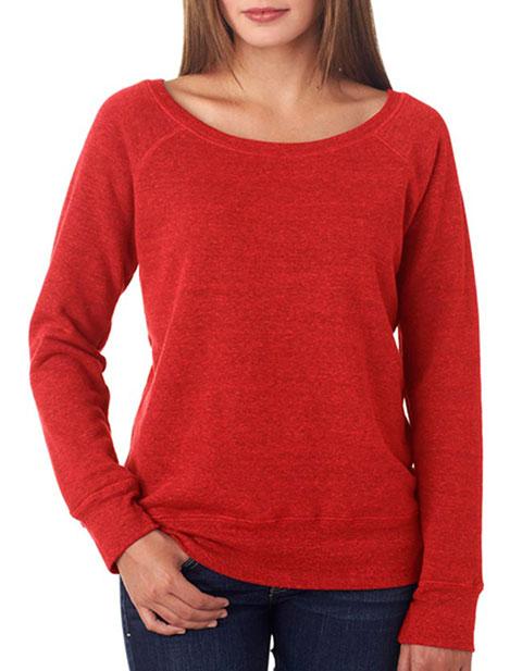 7501 Bella + Canvas Ladies' Sponge Fleece Wide Neck Sweatshirt