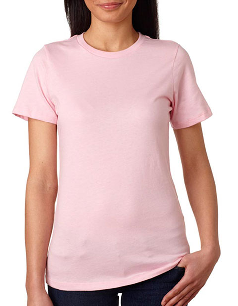 Bella+Canvas Missy Short-Sleeve Jersey Crew Neck