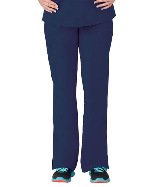 Bio Stretch Ladies Multi-Pocket Cargo Petite Scrub Pant