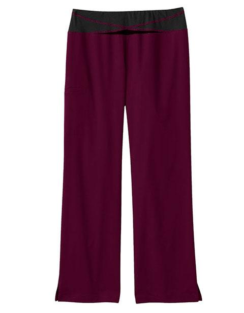 Bio Stretch Women's Knit Yoga Scrub Pants