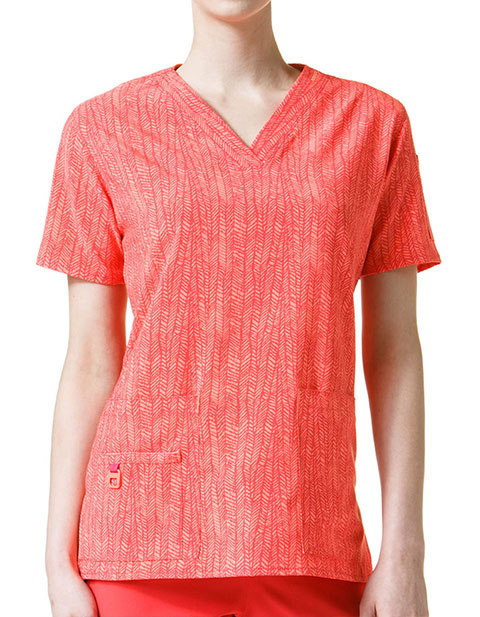 Carhartt Cross-Flex Women's V-Neck Media Top