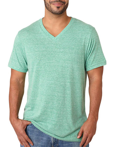 Bella+Canvas Men's Triblend V-Neck Tee