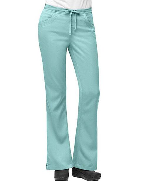 Carhartt Women 3-Pocket Flare-Leg Scrub Pants