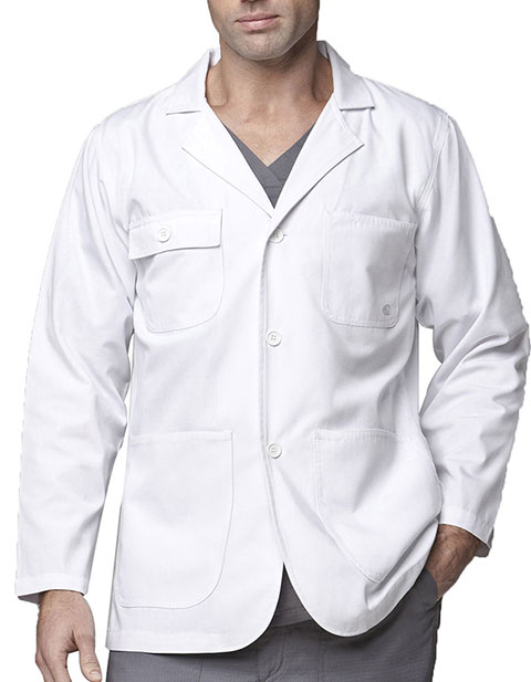 Carhartt Unisex 30 inch Five Pocket White Consultation Lab Coat