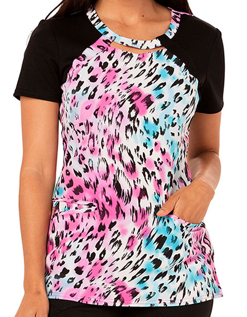 Careisma Fiercely Flawless Women's Leopard Print Top
