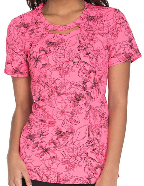 Careisma A Passion For Pink Women's Round Neck Top