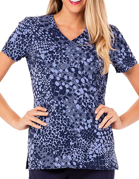 Careisma Tropi-Cool Women's In Spot Purr-suit Printed Top