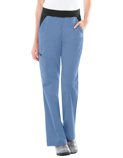 Cherokee Flexibles Women Cargo Pocket Medical Scrub Pants