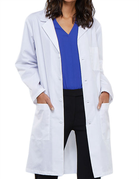 Cherokee Whites Unisex 40 Inches Long Medical Lab Coat