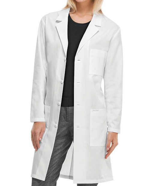 Cherokee Professional Whites with Certainty 40 Inches Antimicrobial Lab Coat