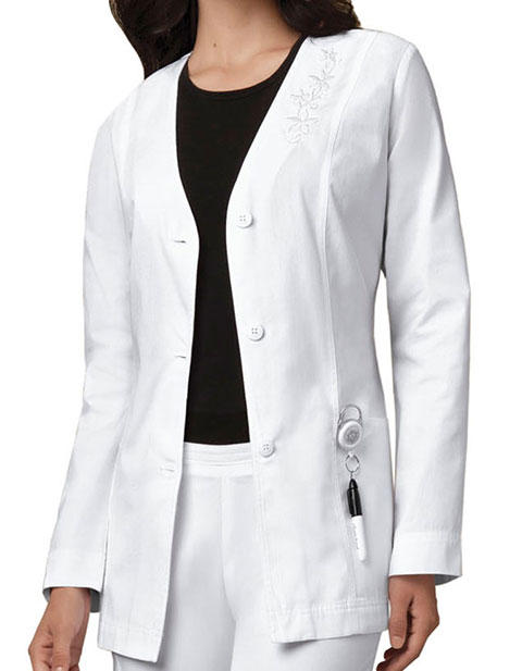 Cherokee Womens 29 inch Cardigan Medical Lab Coat