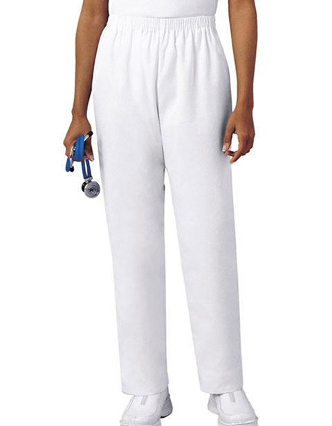 Cherokee Women Two Pocket Elastic Waist Tall Medical Scrub Pants