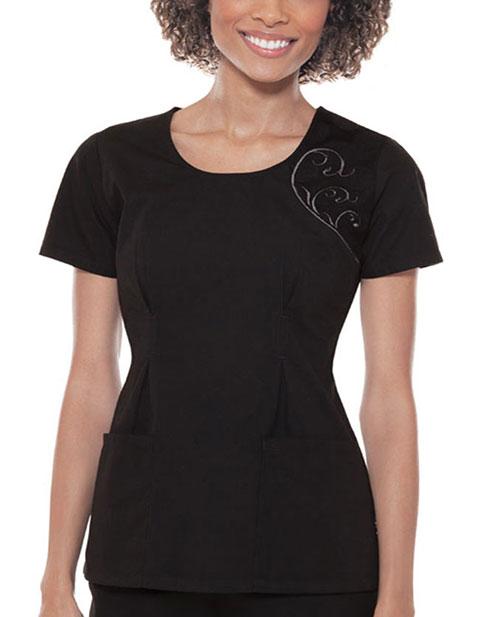 Buy Baby Phat Women Elegant Embroidery Scoop Neck Nursing