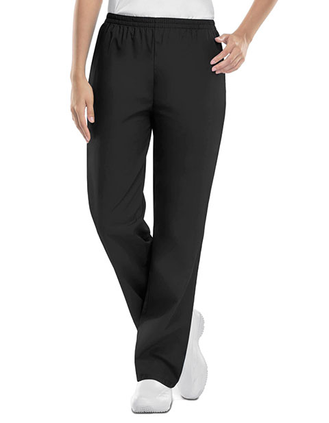 Cherokee Workwear Womens Petite Elastic Scrub Pants