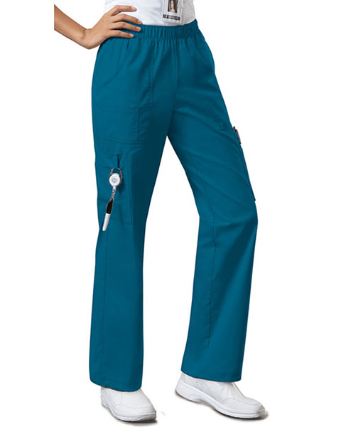 Cherokee WorkWear Women's Straight Leg Petite Scrub Pants