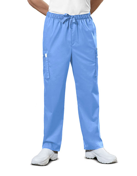 Cherokee WorkWear Men Natural Rise Drawstring Pants