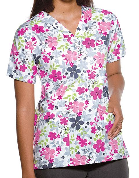 Cherokee HQ Women Sunnyvale V-Neck Nurses Scrub Top