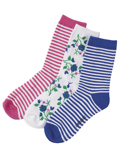 Cherokee Women's 1-3pr pack of Crew Socks