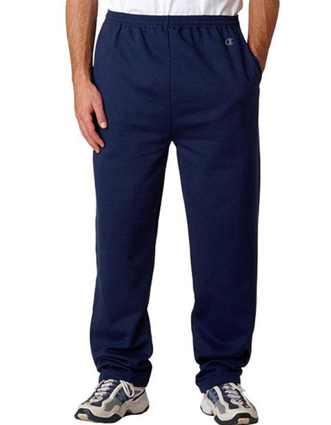 P800 Champion Adult Eco® Open-Bottom Fleece Pants with Pockets