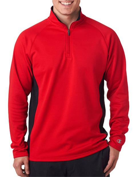 Champion Adult Performance Color Block 1/4-Zip Jacket
