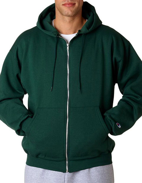 S800 Champion Adult Eco® Full-Zip Hooded Fleece