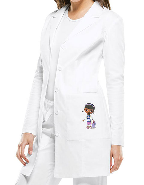 Tooniforms Disney Women's 33 Inches Doc Mcstuffins Pocket Lab Coat