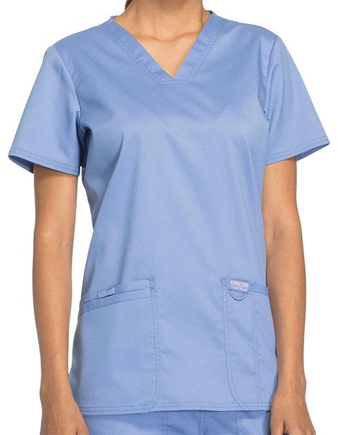 Cherokee Workwear Revolution Womens Nursing V-Neck Top