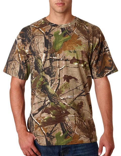 3980 Code V Adult REALTREE® Camouflage Cotton T-Shirt