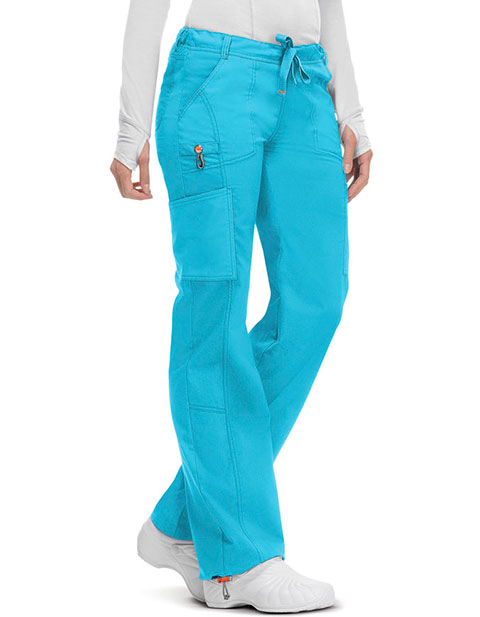 Code Happy Bliss w/ Certainty Women's Low Rise Straight Leg Drawstring Tall Pant