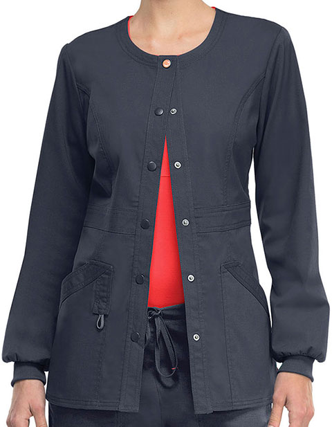 Code Happy Bliss w/ Certainty Women's Snap Front Warm up Jacket
