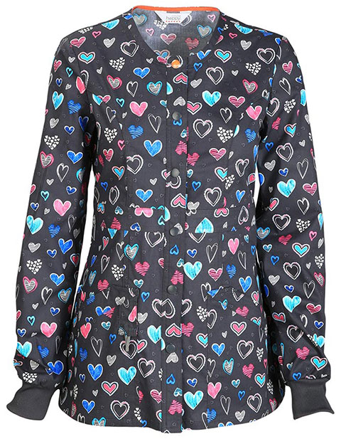 Code Happy Love Is In The Air Women's Antimicrobial Certainty Warm-up Jacket