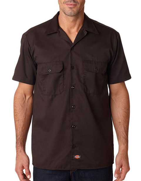 Dickies 1574 Adult Short-Sleeve Blended Work Shirt