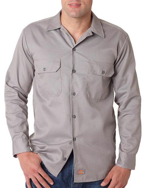 574 Dickies Adult Long-Sleeve Work Shirt