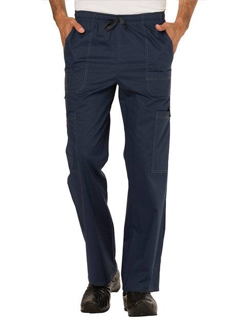 Dickies GenFlex Men's Drawstring Cargo Tall Scrub Pant