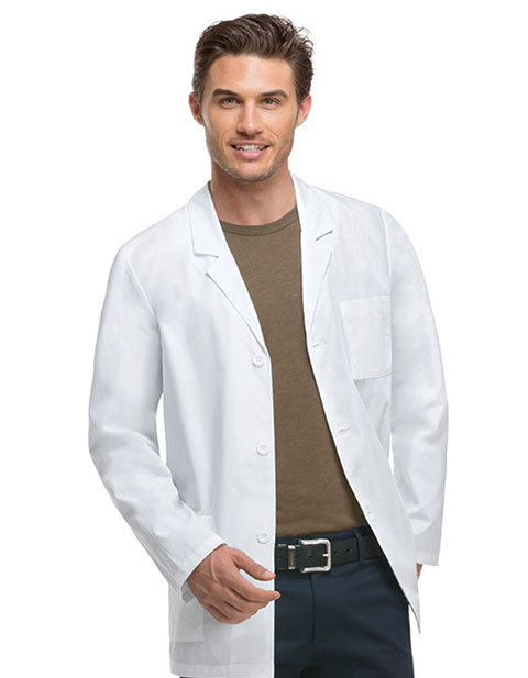 Dickies EDS Professional Whites Men's Fit 31 Inches Consultation Lab Coat