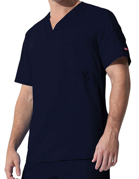 Dickies GenFlex Youtility Men's Solid Nursing Scrub Top