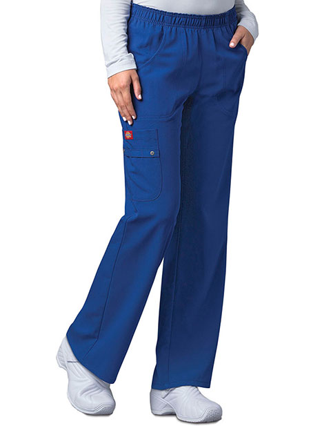 Dickies Xtreme Stretch Women's Mid Rise Pull-On Cargo Tall Pant