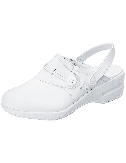 Office 365 Cherokee >> Buy Dickies Extreme Womens Amazing White Leather Nursing Clogs for $54.95