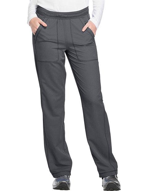 Dickies Dynamix Women's Mid Rise Straight Leg Pull-on Tall Pant