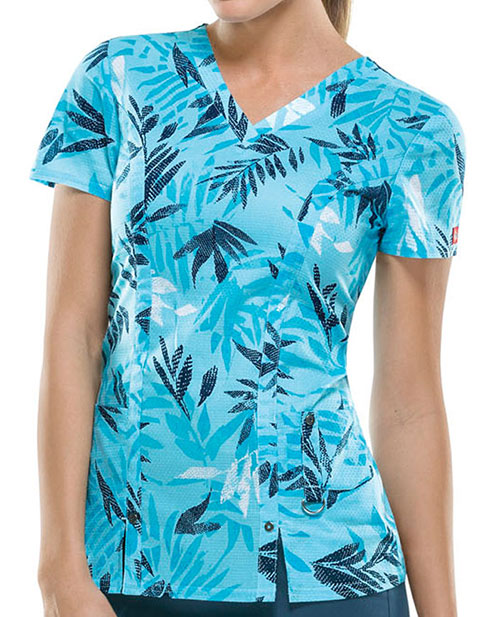 Dickies Island Hopping Women's V-Neck Top