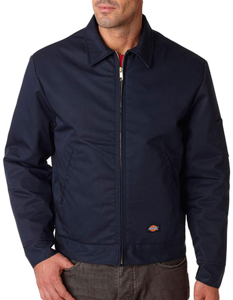 TJ15 Dickies Adult Lined Eisenhower Jacket
