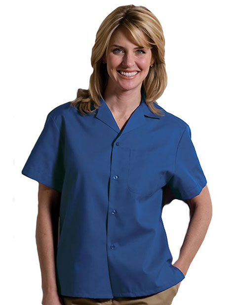 Easy Care Poplin Camp Shirt